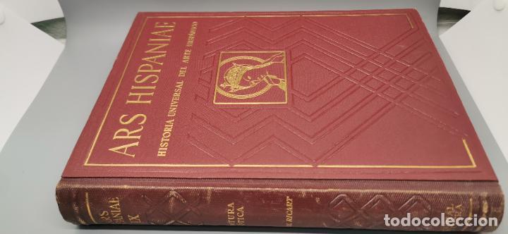 Libros: ARS HISPANIAE. HISTORIA UNIVERSAL DEL ARTE HISPANICO. TOMO IX: PINTURA GOTICA - Foto 2 - 238135650