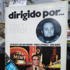 Libros: DIRIGIDO POR. Nº 15. MARCO FERRERI - REVISTA DE CINE. ETUDIO ANTONIO CASTRO.. Lote 220149522