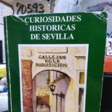 Libros: CURIOSIDADES HISTORICAS DE SEVILLA - MENA, J. Mª. Lote 220149532