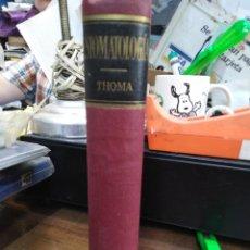 Libros: ESTOMATOLOGIA - THOMA, KURT H.. Lote 220149527