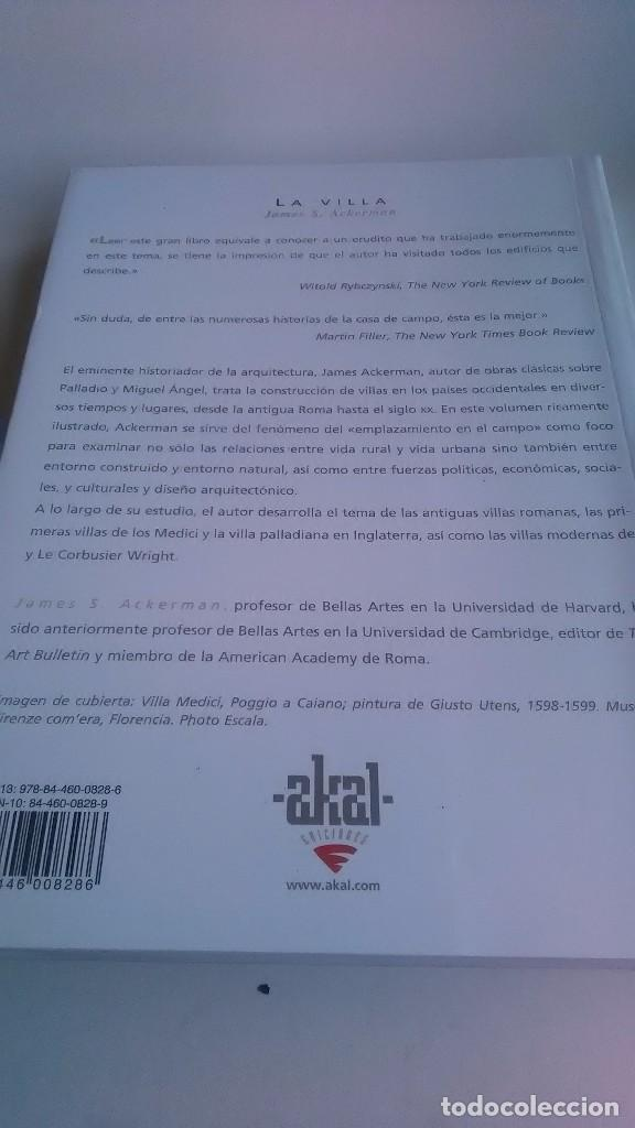 Libros: La Villa. Forma e ideología de las casas de campo.Akal Arquitectura. 2006 - Foto 2 - 239413080