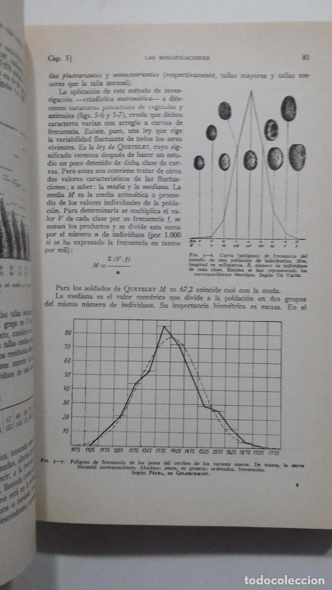 Libros: BIOLOGÍA GENERAL I Y II (2 VOLÚMENES) SALUSTIO ALVARADO. TDK422 - - Foto 2 - 183865333