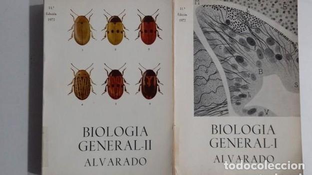 BIOLOGÍA GENERAL I Y II (2 VOLÚMENES) SALUSTIO ALVARADO. TDK422 - (Libros sin clasificar)