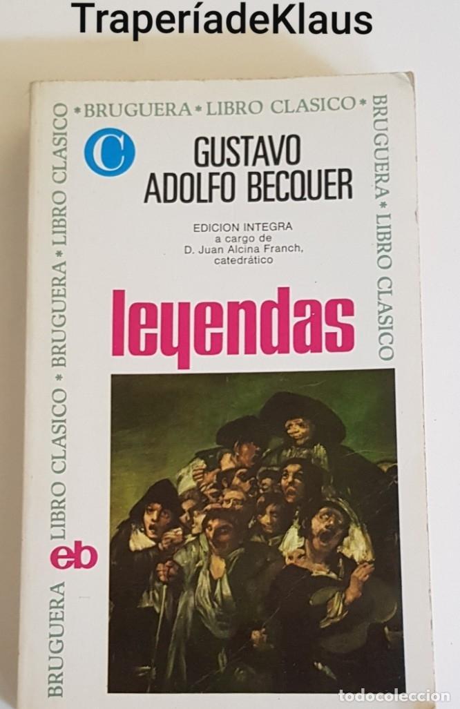 LEYENDAS - GUSTAVO ADOLFO BECQUER - TDK162 - (Libros sin clasificar)