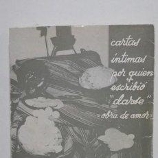 Libri di seconda mano: ALMAS TOTALES. MEDITACIONES. CARTAS INTIMAS 1973-1974. TDK417 -. Lote 182846793