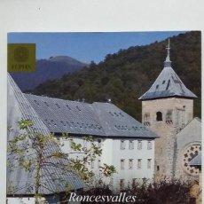 Libri di seconda mano: RONCESVALLES. HOSPITAL Y SANTUARIO EN EL CAMINO DE SANTIAGO. JAVIER MARTINEZ DE AGUIRRE. TDK407 -. Lote 183718967