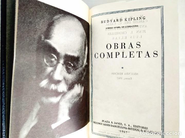 Libros: KIPLING: OBRAS COMPLETAS - TOMOS I Y II - NUEVOS - Foto 2 - 240491765