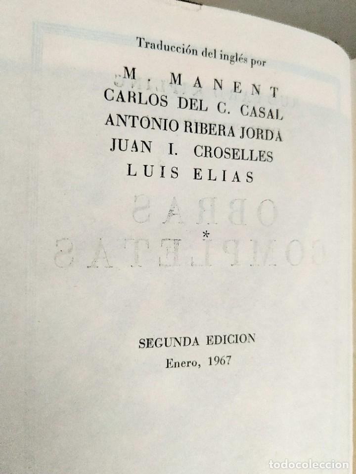 Libros: KIPLING: OBRAS COMPLETAS - TOMOS I Y II - NUEVOS - Foto 3 - 240491765