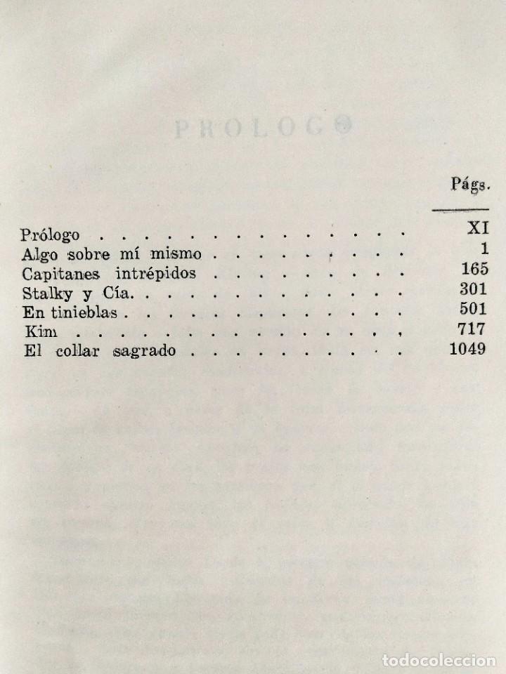 Libros: KIPLING: OBRAS COMPLETAS - TOMOS I Y II - NUEVOS - Foto 4 - 240491765