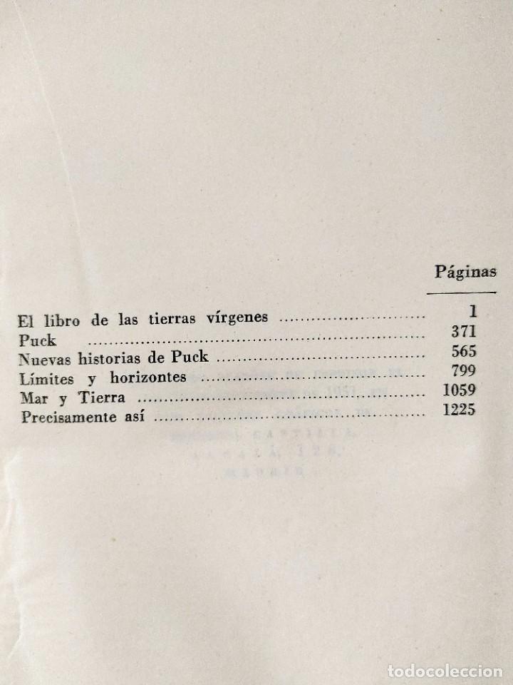 Libros: KIPLING: OBRAS COMPLETAS - TOMOS I Y II - NUEVOS - Foto 7 - 240491765