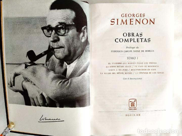SIMENON: OBRAS COMPLETAS I - NUEVO (Libros Nuevos - Literatura - Narrativa - Aventuras)
