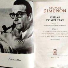 Libros: SIMENON: OBRAS COMPLETAS I - NUEVO. Lote 240492610