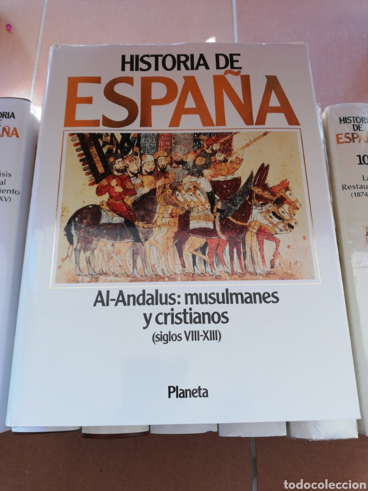 Libros: Historia de España (12 tomos) completa, Antonio Domínguez Hortiz, editorial planeta - Foto 4 - 240635140