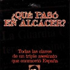 """Libros: LIBRO """"¿QUÉ PASÓ EN ALCASSER?"""" DE JUAN IGNACIO BLANCO. Lote 240739490"""