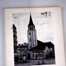 Libros: BERNARD BUFFET, PARÍS.- BAUER, GÉRARD. Lote 240966300