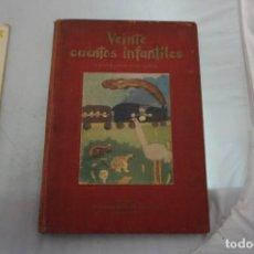 Libros: EDICION LIMITADA - EJEMPLAR NUMERADO - VEINTE CUENTOS INFANTILES ILUSTRADOS POR NIÑOS / KRAFF 1954. Lote 241877605
