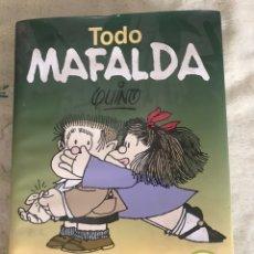 Libros: TODO MAFALDA 40 ANIVERSARIO. PASTA DURA. Lote 242129520