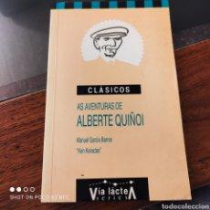 "Libros: AS AVENTURAS DE ALBERTE QUIÑOI, MANUEL GARCÍA BARROS ""KEN KEIRADES"". Lote 242170510"