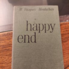 Libros: HAPPY END, M.VAZQUEZ MONTALBÁN. Lote 242173195