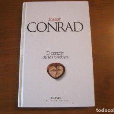 Libros: EL CORAZÓN DE LAS TINIEBLAS. JOSEPH CONRAND. Lote 243012095