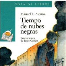 Libros: TIEMPO DE NUBES GRISES - MANUEL L. ALONSO. Lote 243587120