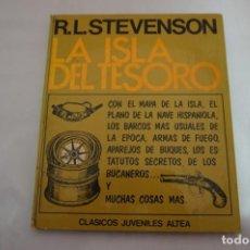 Libros: 18C/ LA ISLA DEL TESORO - ROBERT LOUIS STEVENSON / EDICIONES ALTEA. Lote 243624530