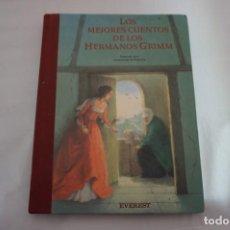 Libros: 17A/ LOS MEJORES CUENTOS DE LOS HERMANOS GRIMM / EVEREST. Lote 243644515