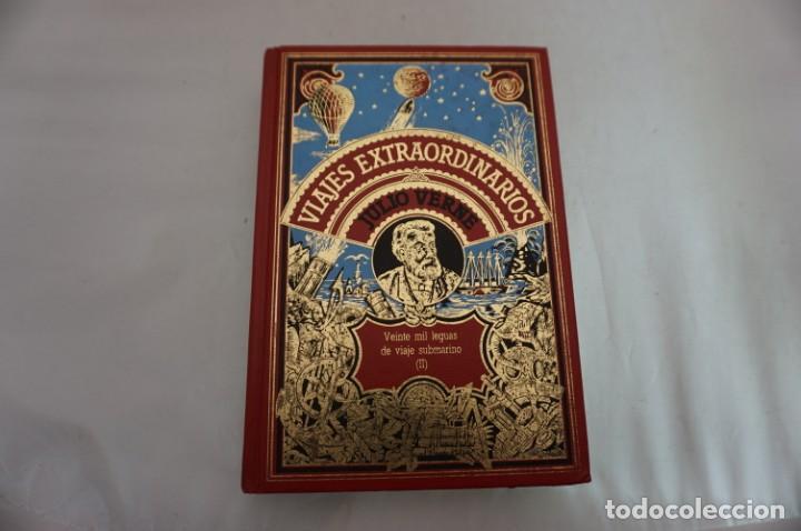 18B/ VIAJES EXTRAORDINARIOS - JULIO VERNE - VEINTE MIL LEGUAS DE VIAJE SUBMARINO II (Libros sin clasificar)