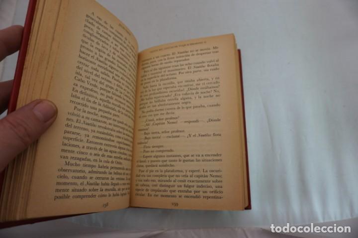 Libros: 18B/ VIAJES EXTRAORDINARIOS - JULIO VERNE - VEINTE MIL LEGUAS DE VIAJE SUBMARINO II - Foto 5 - 243648660