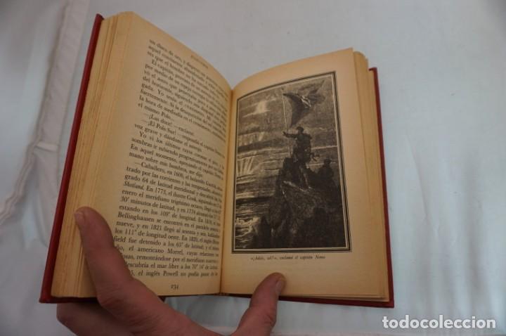 Libros: 18B/ VIAJES EXTRAORDINARIOS - JULIO VERNE - VEINTE MIL LEGUAS DE VIAJE SUBMARINO II - Foto 6 - 243648660