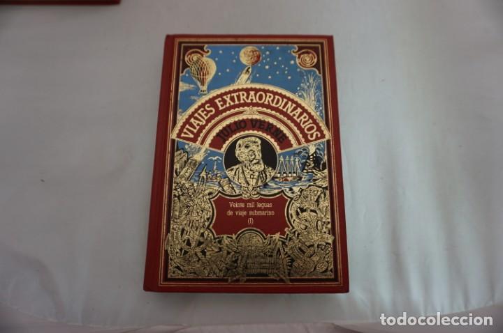 Libros: 18B/ VIAJES EXTRAORDINARIOS - JULIO VERNE - VEINTE MIL LEGUAS DE VIAJE SUBMARINO I - Foto 2 - 243648815