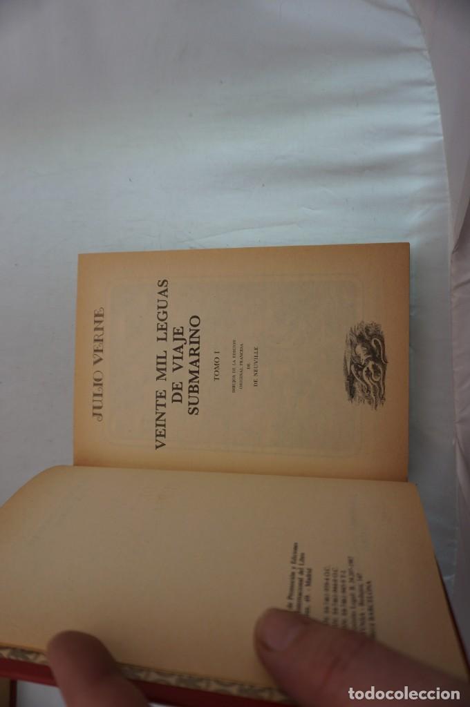 Libros: 18B/ VIAJES EXTRAORDINARIOS - JULIO VERNE - VEINTE MIL LEGUAS DE VIAJE SUBMARINO I - Foto 3 - 243648815