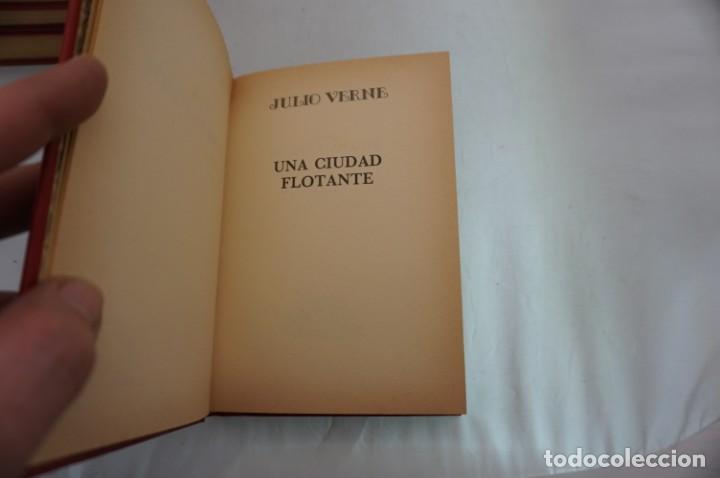 Libros: 18B/ VIAJES EXTRAORDINARIOS - JULIO VERNE - UNA CIUDAD FLOTANTE - Foto 3 - 243649220