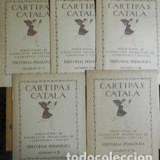 Libros: CARTIPÀS CATALÀ. MÉTODE D´ESCRIPTURA VERTICAL PER PAU ROMEVA. 5 QUADERNS. PUBLICACIONS DE L´ASSOCIAC. Lote 243650095