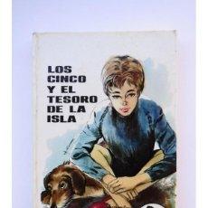 Libros: LOS CINCO Y EL TESORO DE LA ISLA - BLYTON, ENID. Lote 243824670