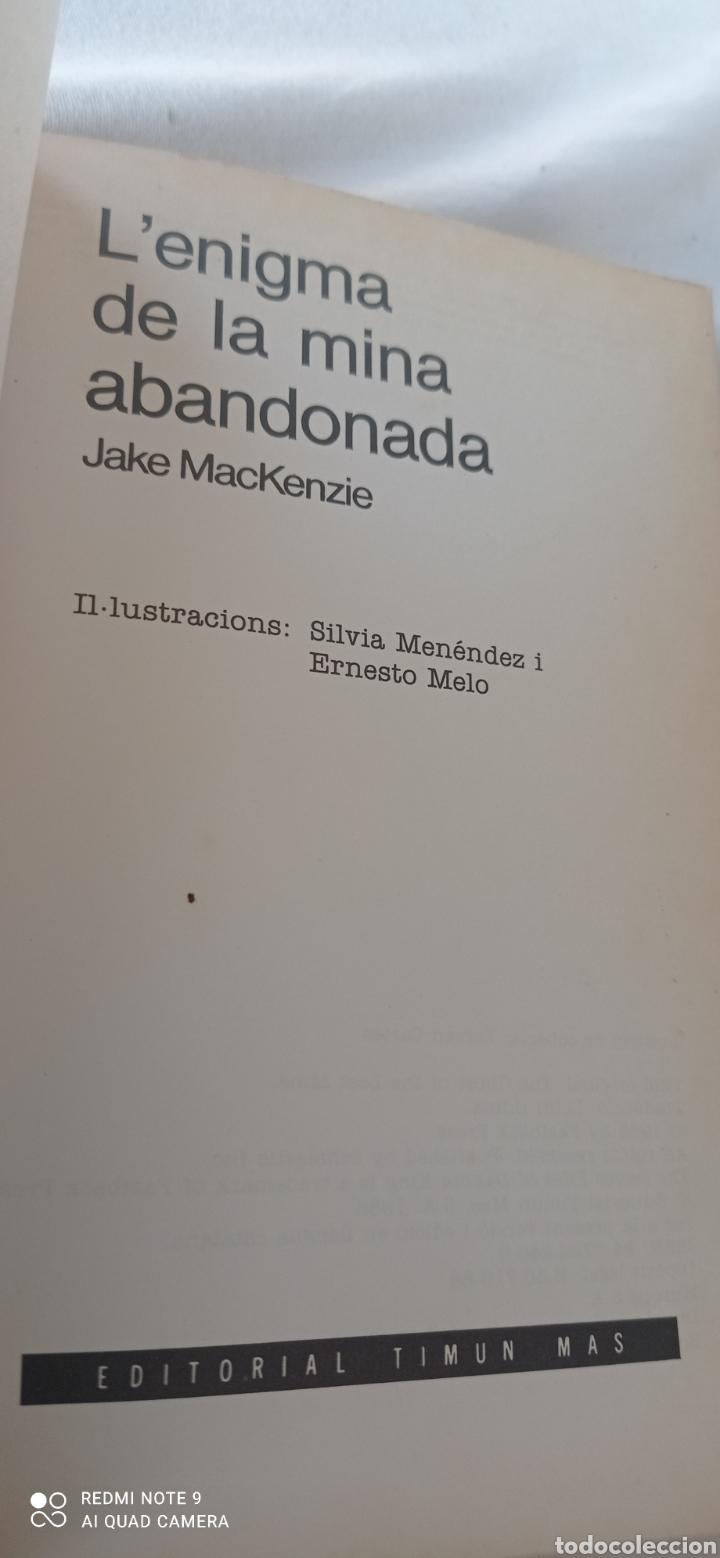Libros: L,enigma de la mina abandonada . Els arxius secrets de Dakota King. Desxifra les pistes i descubrira - Foto 3 - 243849495