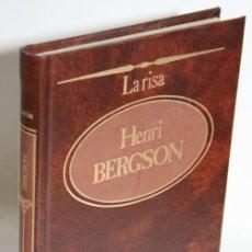 Libros: LA RISA - BERGSON, HENRI. Lote 243874600