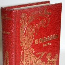 Libros: EL FILOBIBLIÓN EL PHILOBIBLIÓN - BURY, RICART DE. Lote 243874630