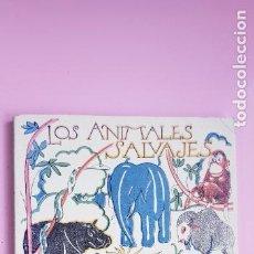 Libros: LIBRO-LOS ANIMALES SALVAJES-LIBRO DE LA NATURALEZA-ESPASA CALPE S.A.-2005-FACSIMIL(1941)-COLECCION. Lote 243916475