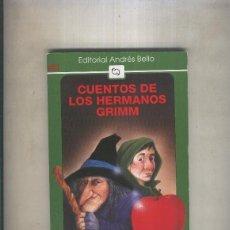 Libros: CUENTOS DE LOS HERMANOS GRIMM. Lote 243942025
