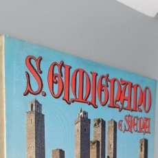 Libros: SAN GIMIGNANO Y SIENA 104 COLOURED TABLES KPDAK. Lote 243960080