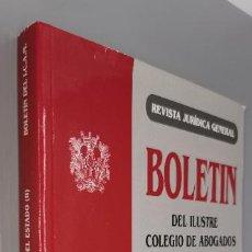 Libros: BOLETIN ILUSTRE COLEGIO ABOGADOS DE MADRID TEMAS LA RESPONSABILIDAD PATRIMONIAL DEL ESTADO (II). Lote 243967305
