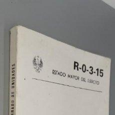 Libros: EJERCITO ESPAÑOL. REGLAMENTO. ORDEN CERRADO DE UNIDADES 1982. Lote 243970105