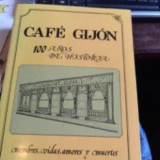 Libros: CAFÉ GIJÓN. 100 AÑOS 1988. Lote 244197915