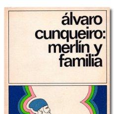 Libros: CUNQUEIRO (ÁLVARO). MERLÍN Y FAMILIA. Lote 244521605
