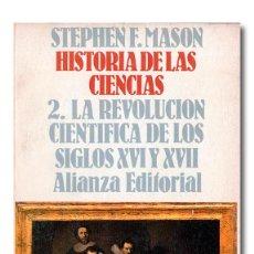 Libros: MASON (STEPHEN F.). HISTORIA DE LAS CIENCIAS. Lote 244521625