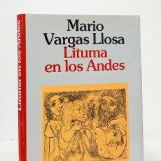 Libros: VARGAS LLOSA (MARIO). LITUMA EN LOS ANDES. Lote 244521650