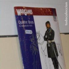 Libros: WARGAMES SOLDADOS Y ESTRATEGIA 1 QUATRE BRAS 16-6-1815 MAS DVD WATERLOO - PERSIAN BOOKS OFERTA. Lote 244538125