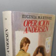 Libros: OPERACION ANDERSEN - EUGENIA MARTÍNEZ. Lote 244552675