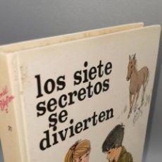 Libros: LIBRO LOS SIETE SECRETOS SE DIVIERTEN. ENID BLYTON. ED JUVENTUD. Lote 244552875